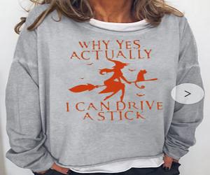 I Can Drive Halloween Shirt