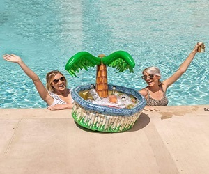Inflatable Palm Tree Cooler Beach Theme Party Decor