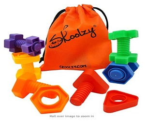 Jumbo Nuts and Bolts Toddler Toys