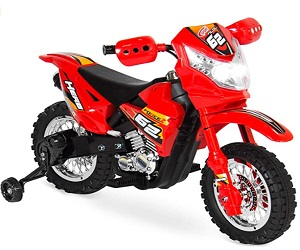 Kids 6V Ride Motorcycle