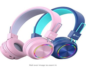 Colorful Lights Headphones for Kids + Extra $5 Off
