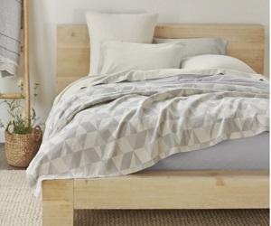 Pismo Ginger King Sized Organic Blanket