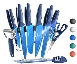 16 Pieces Kitchen Knife Set