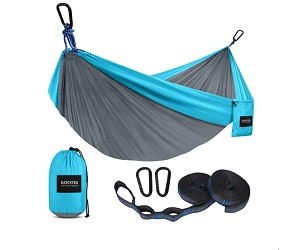 Kootek Portable Hammocks with 2 Tree Straps for Camping