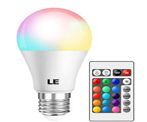 Color Changing Light Bulbs with Remote, + Extra 15% Off