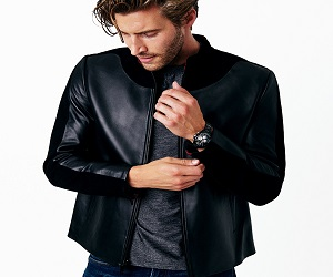 PRIME SUEDE LEATHER JACKET