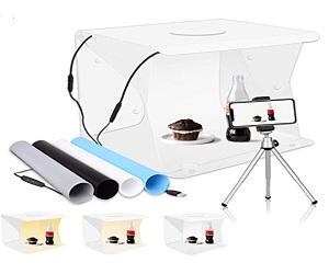 LED Portable Photo Studio Shooting Tent