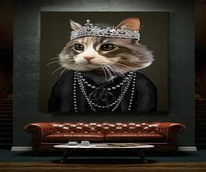 Lady Gatsby Gallery Canvas