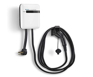 Level 2 Electric Vehicle Charging Station With 18 ft Cable