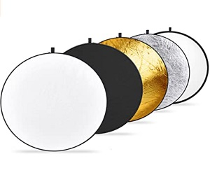 Light Reflector 5 In 1 Collapsible Multi Disc With Bag