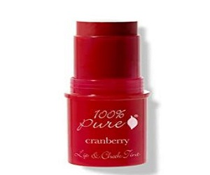Cranberry Glow, Long Lasting Lip and Blush Stick