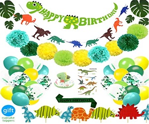 Little Dino Party Decorations Set