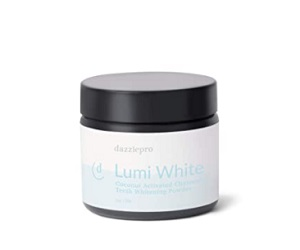 Lumi White Activated Charcoal Teeth Whitening Powder