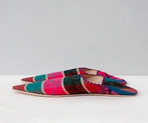 Moroccan Boujad Pointed Babouche Slippers, Marrakech