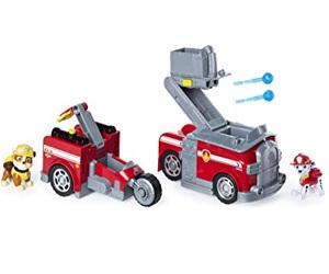 Marshall Split Second Transforming Fire Truck