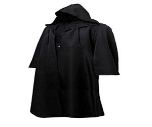 Men Hooded Robe Cloak Knight