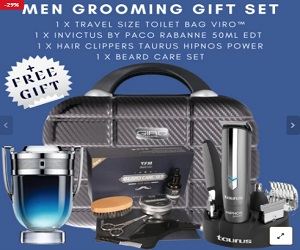 Men Grooming Gift Set + Free Gift