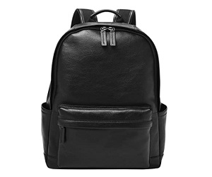 Men's Leather or Fabric Backpack