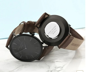 Mens Mordern Vintage Perssonalised watch