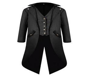 Men's Steampunk Vintage Tailcoat Jacket