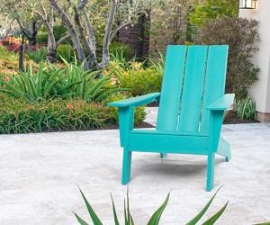 Modern Adirondack Chair by ResinTeak