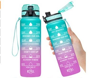 Motivational Fitness Sports Water Bottle