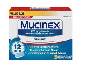 Mucinex Chest Congestion Maximum Strength