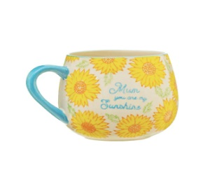 Mum You Are My Sunshine Sunflower Mug