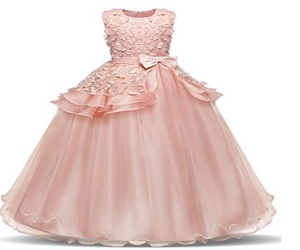 Embroidery Princess Pageant Dresses