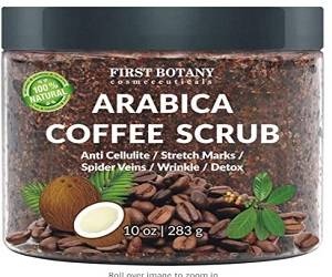 Natural Arabica Coffee Scrub + Extra 5% Off