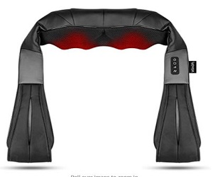 Neck and Back Massager with Heat Electric