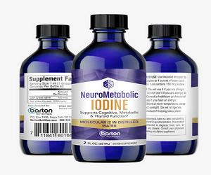 NeuroMetabolic Iodine 2 oz bottle