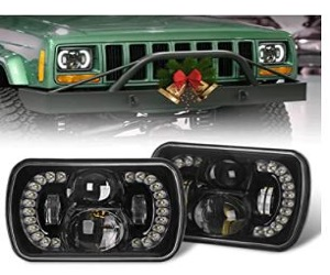Headlamps Compatible with Jeep Wrangler