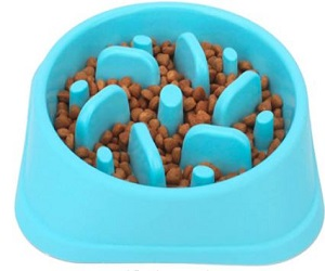 Pet Slower Food Feeding Dishes
