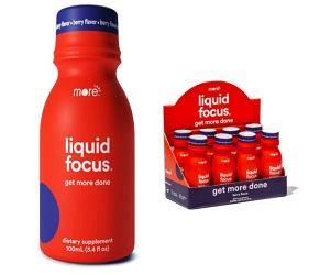 Nootropic Energy Shot 150mg Caffeine Berry Flavor