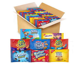 OREO Mini Cookies & Crackers 48 Snack Packs