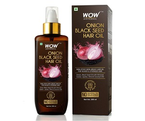 Onion Black Seed Hair Oil For Natural Hair Care