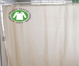 Organic Cotton Shower Curtain