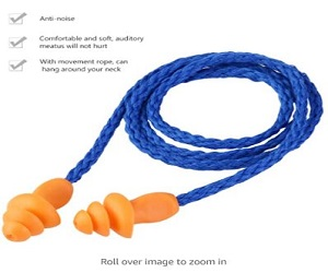 Soft Silicone Corded Ear Plugs