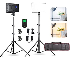 Panel Studio Lights Stand With Wireless Remote