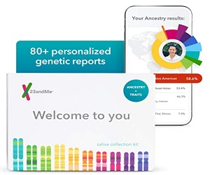 Genetic DNA Test with 2000