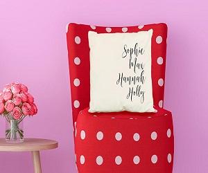 Family Names Pillow