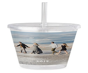 Photo Gallery Acrylic Tumbler with Straw