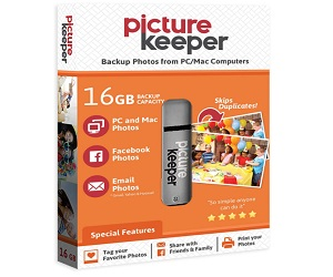 Picture Keeper 16GB Portable USB