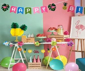 Pineapple Decor Luau Party Supplies Birthday Decorations