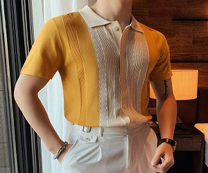MLANM Men's Polo Shirt