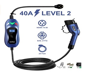 Portable Electric Vehicle Charger Cable