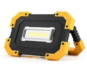 Portable Rugged 2 Mode Ultra Bright 400 Lumen COB Work Light