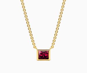Princess Cut Necklace