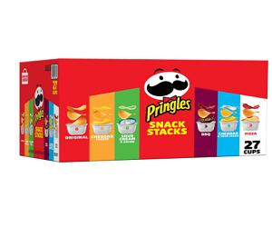 Pringles 27 Cups